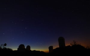 Kitt Peak remains in dark, shows effectiveness of local lighting laws