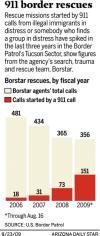 Patrol's 'Mr. 911' juggles phones, emotions to save border crossers