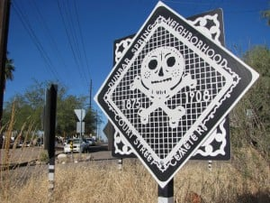 Tucson Oddity: Neighborhood atop cemetery