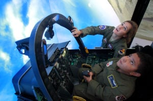 Photos: Cancer patient is pilot for a day at D-M
