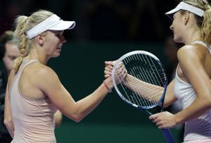 Wozniacki vence a Sharapova en Copa de la WTA