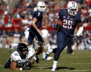 Arizona Wildcats football: RB Carey wins Pac-12 weekly honor