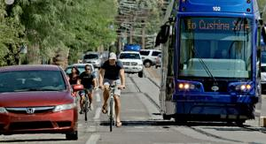 Streetcar's near-miss with bike spotlights safety concerns