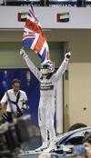 Hamilton gana su segundo título de F1 en Abu Dabi