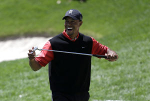 Golf: With renewed swagger, health, Tiger No. 1 again