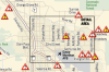 Interactive: Areas to avoid during flash floods