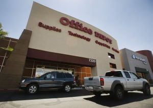 Office Depot closing store at Broadway and Kolb