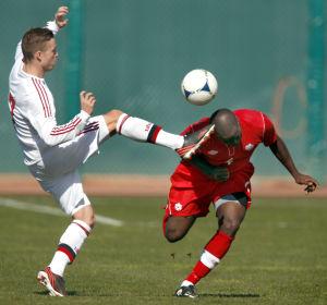 Photos: Canada vs Denmark soccer