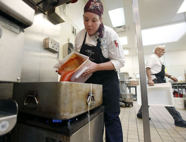Food bank increases its reach to needy with catering for Assistant cuisine