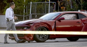 Slaying suspect kills himself after police chase