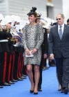 The Duchess Of Cambridge Attends Princess Cruises Ship Naming Ceremon