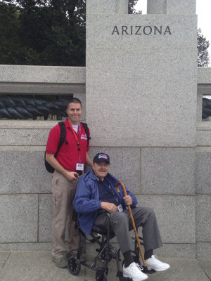Airmen in your community: Airman takes a trip with Honor Flight