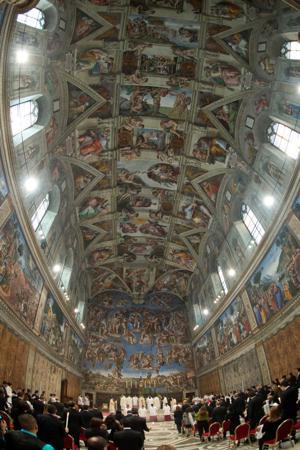 Vaticano: Dañan frescos de Capilla Sixtina