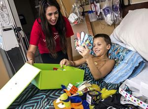 Photos: Gifts for kids at Diamond Children's Center