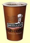 Bottomless coffee at Bruegger's