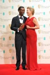 Barkhad Abdi and Emma Thompson