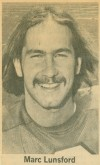 Marc Lunsford, 1974-77