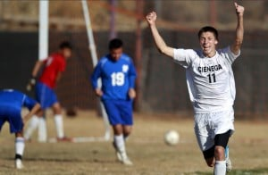 High school soccer: Late goal seals Cienega's victory