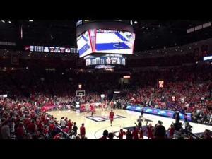 UA fans bust a move