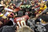NFL playoffs: Seahawks 24, Redskins 14: Skins, RG3's knee buckle vs. Seattle