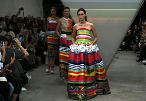 Photos: Britain Fashion Week begins