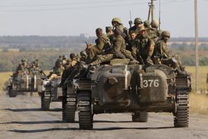 Ucrania: Fuerzas rusas en ciudades rebeldes