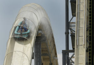 Photos: Kansas City gets world's tallest waterslide