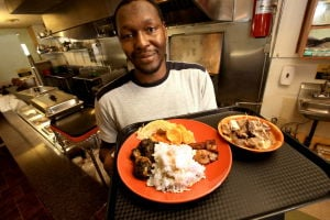 J'Adore  focuses on African cuisine