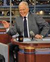Justin Bieber, David Letterman