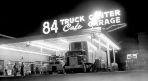 Throwback Thursday: A night at the old 84 Truck Center