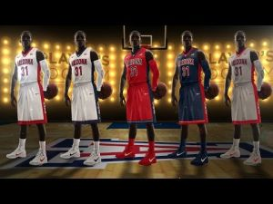 New UA basketball uniforms