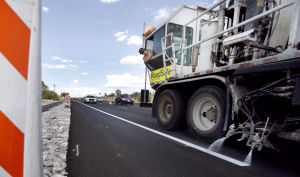 Orange Grove road work nears end