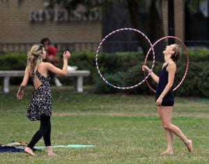 Photo of the day: Hoop dance