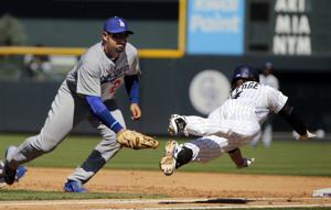 Rockies apabullan a Dodgers y ganan serie