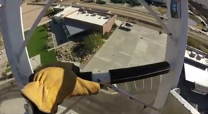 Don't watch this if you are scared of heights