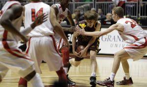 High school basketball boys 4A-II state championships