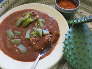 Nopalitos offer a tasty intro to our desert foods