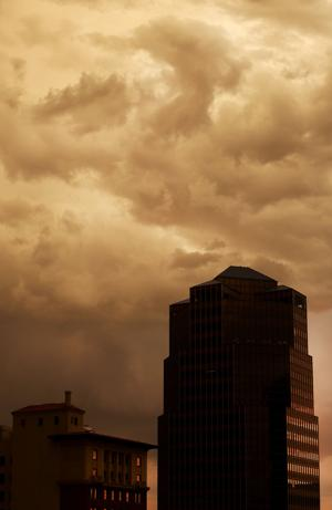 Tucson's hit-and-miss monsoon arrived early