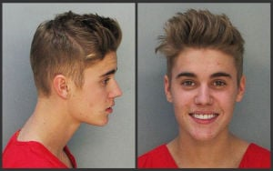Photos: Justin Bieber arrested