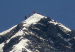Photo of the day: Octogenarians climb Everest