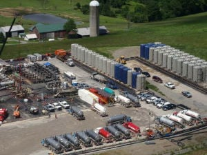 Landmark fracking study finds no water pollution