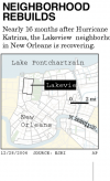 Bellwether middle-class area of New Orleans has signs of life