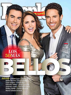 Zepeda, Lucero y Rulli, entre los 'más bellos'