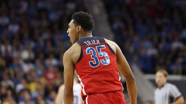 Arizona Wildcats basketball: On a (red and) blue-blooded fan, Kareem's Day, trolling Trier