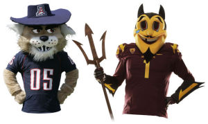 Live chat in advance of the UA-ASU game