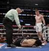 Maduran a 'Canelo' en el ring