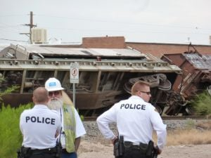 Tucson train derailment under investigation