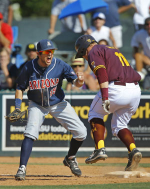 Baseball: Arizona 7, Arizona State 6: Cats come back 2 life