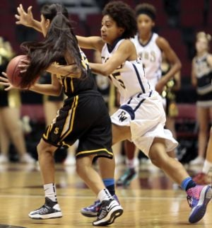 High school basketball girls Div II state championships