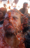 Tomato Fight Fiesta in Spain